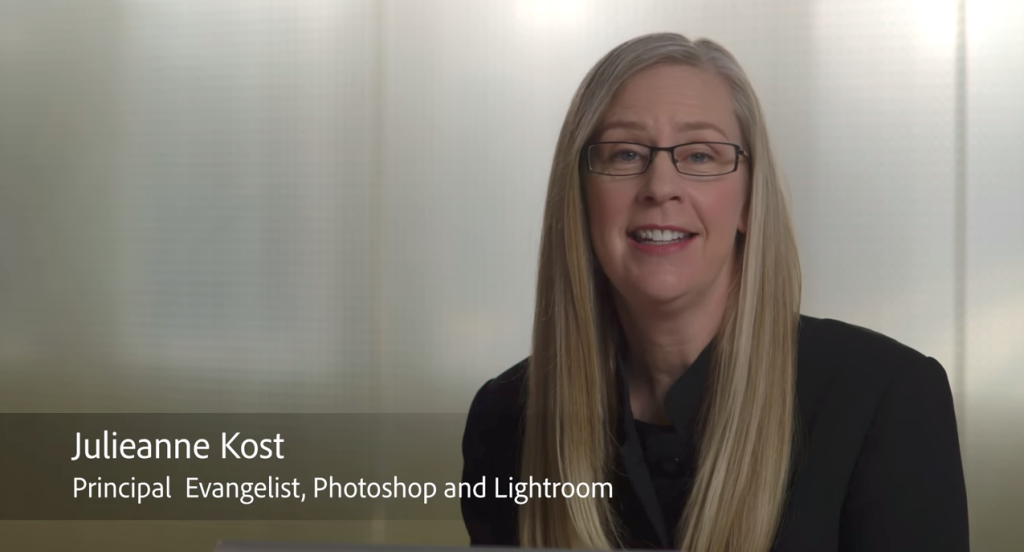 Julieanne Kost Adobe Evangelist