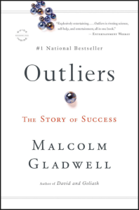 Book Cover for Outliers by Malcolm Gladwell