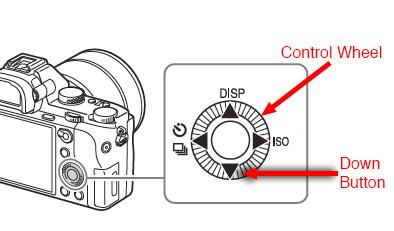 Sony A7 II Control Wheel