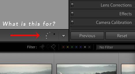 Lightroom Circular Progress Bar