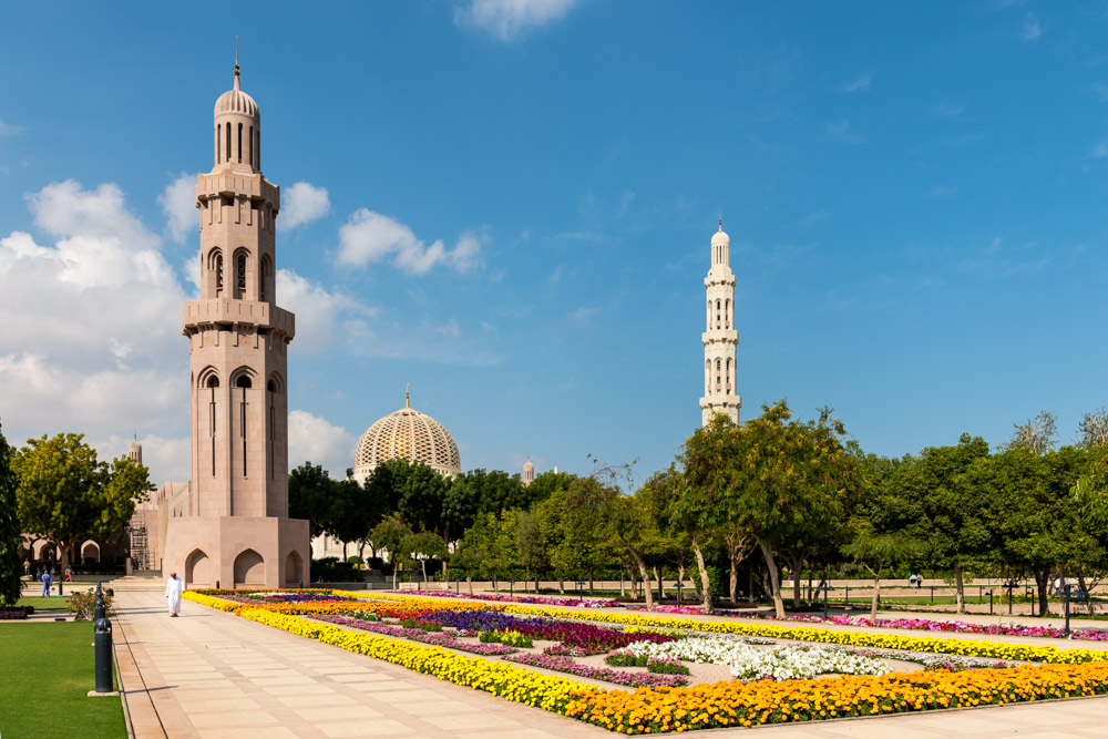 Sultan Qaboos' Grand Mosque, Muscat, Oman