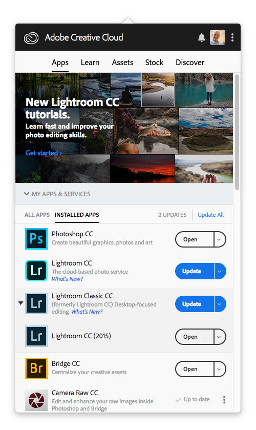 lightroom classic cc 7.5 download free