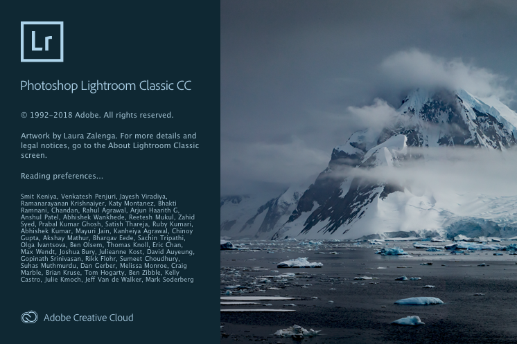 Lightroom Classic CC Version 8