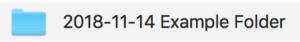 Example Folder Name