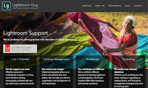 Lightroom Guy New Web Site