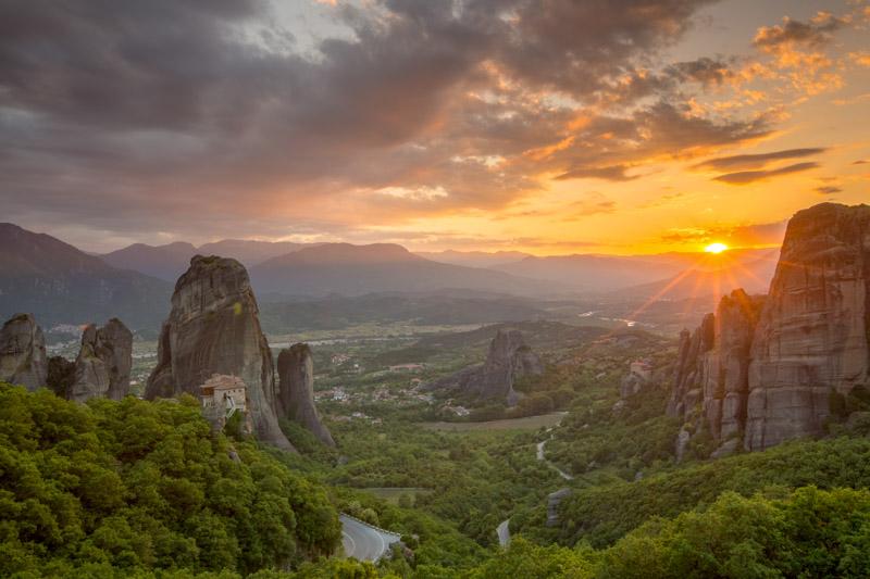 Greece Photo Tour Workshop 2020 - Sunset at Meteora