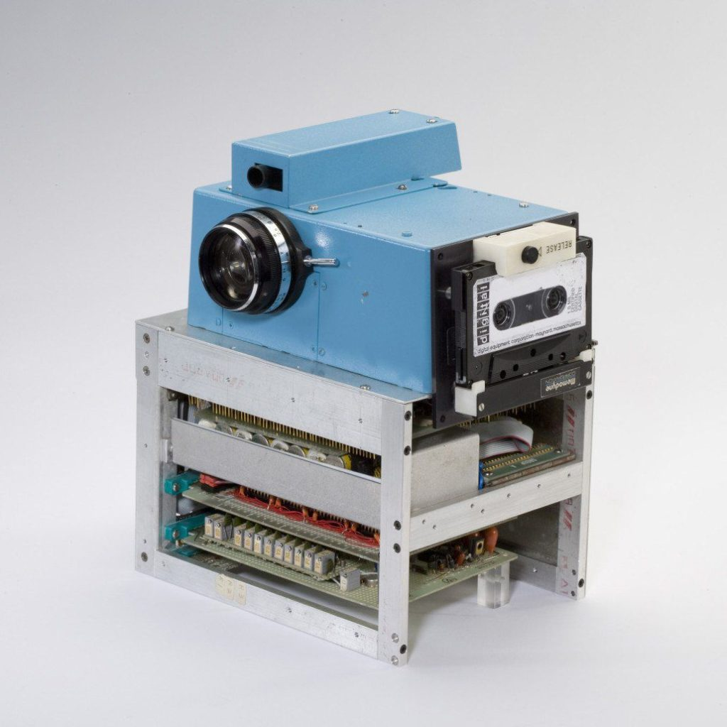 The first digital camera developed by Eastman Kodak