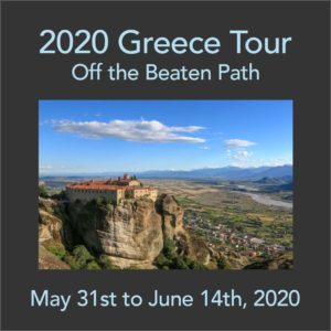Join us for our Photo Tour 2020 Greece