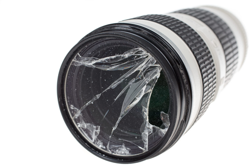 A clear or UV filter can protect your lens from damage. What's in your camera bag.