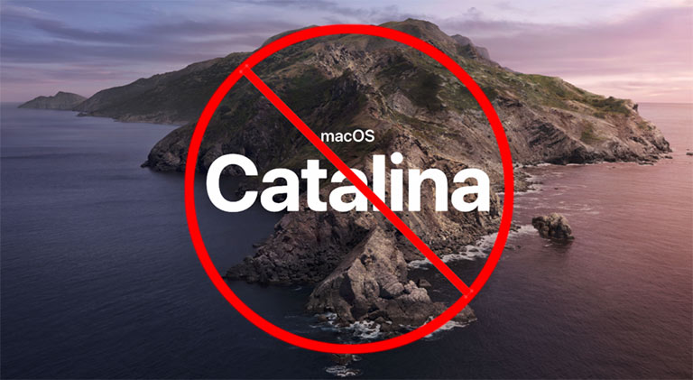 dont update to catalina macos yet - lightroom adobe errors