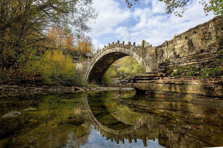 Greece Photography Workshop - Zagori stone arched bridges